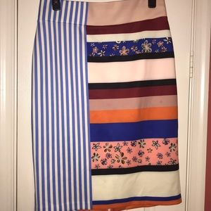 Eloquii multi pattern skirt
